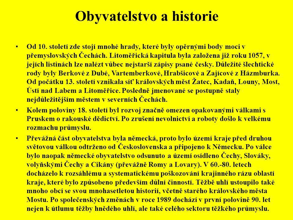 Obyvatelstvo a historie • Od 10.