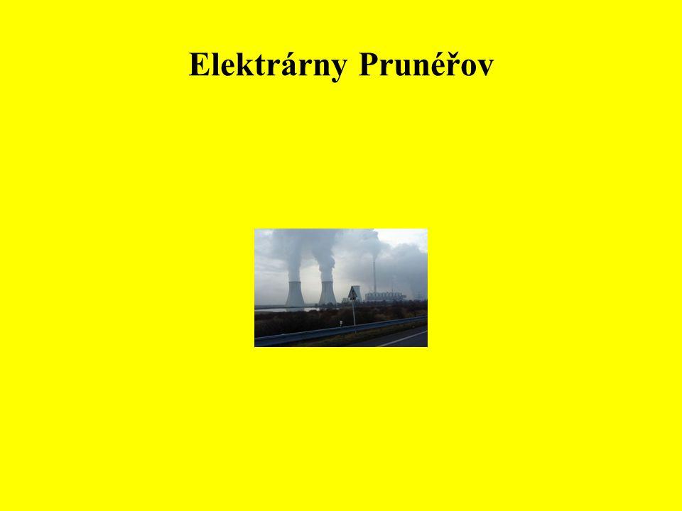 • Významně je zastoupen průmysl chemický.