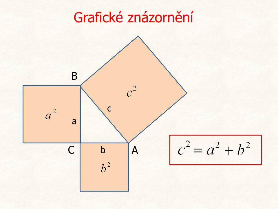 Řešený příklad Rozhodněte, zda trojúhelník o stranách 12 cm, 5 cm a 13 cm je pravoúhlý.