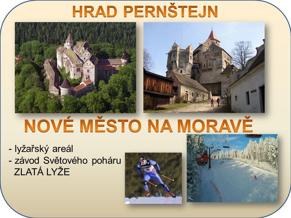 - lyžařský areál - závod Světového poháru ZLATÁ LYŽE