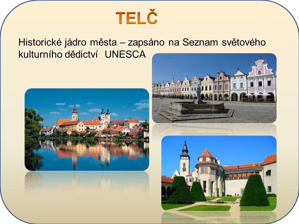 Historické jádro města – zapsáno na Seznam světového kulturního dědictví UNESCA