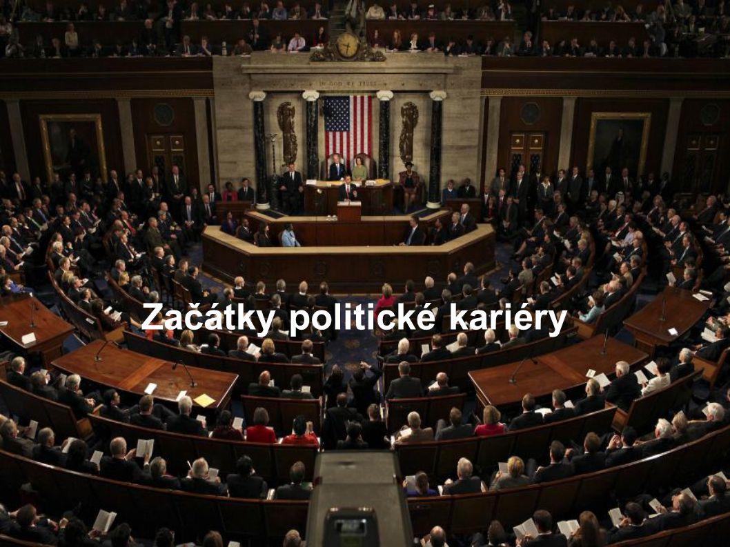 Začátky politické kariéry