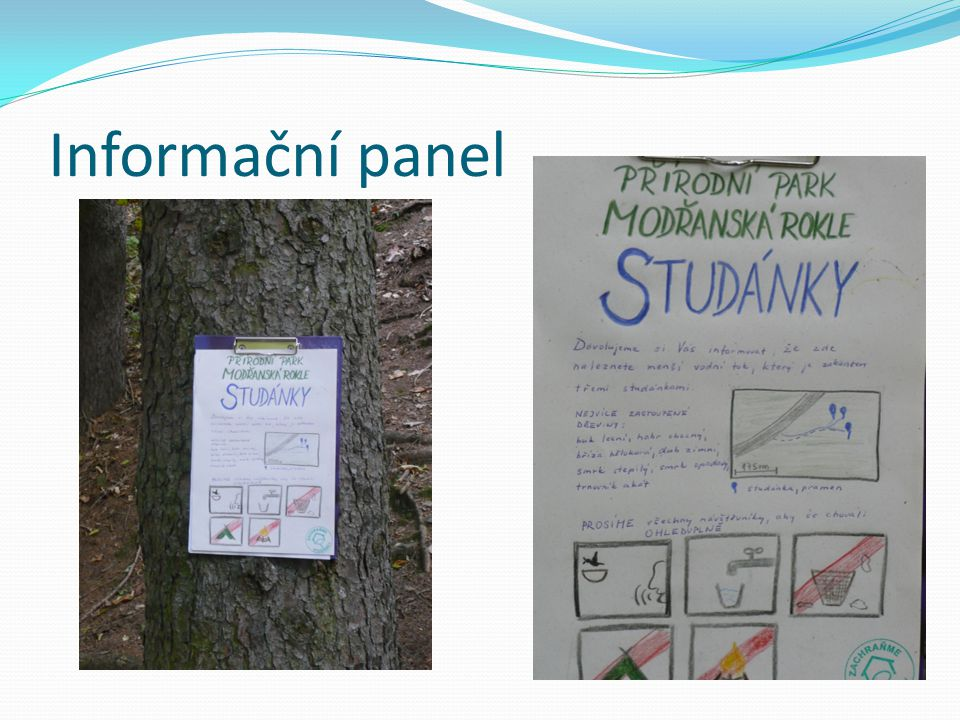 Informační panel