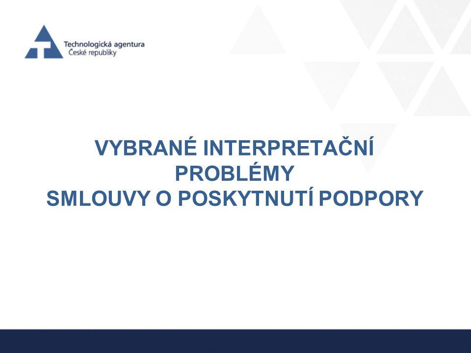 Smlouva o PP •Vlastnictví výsledků –vztah čl.
