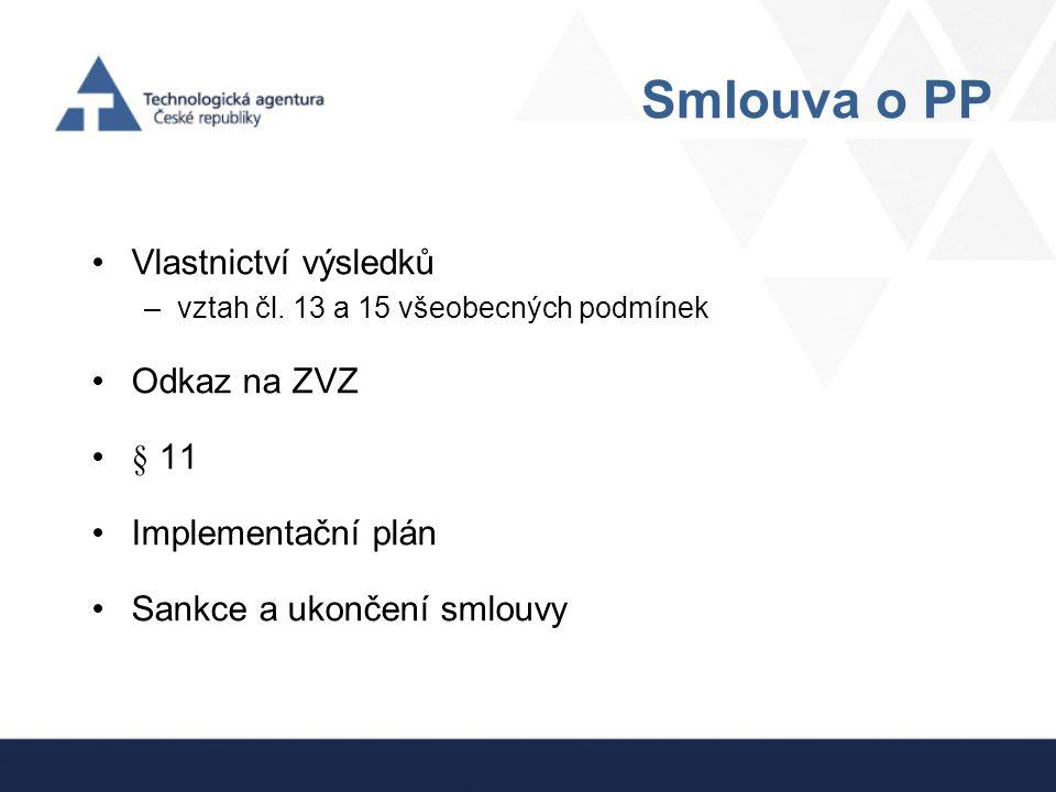 Průběžné zprávy Změnová řízení - pozor změna .
