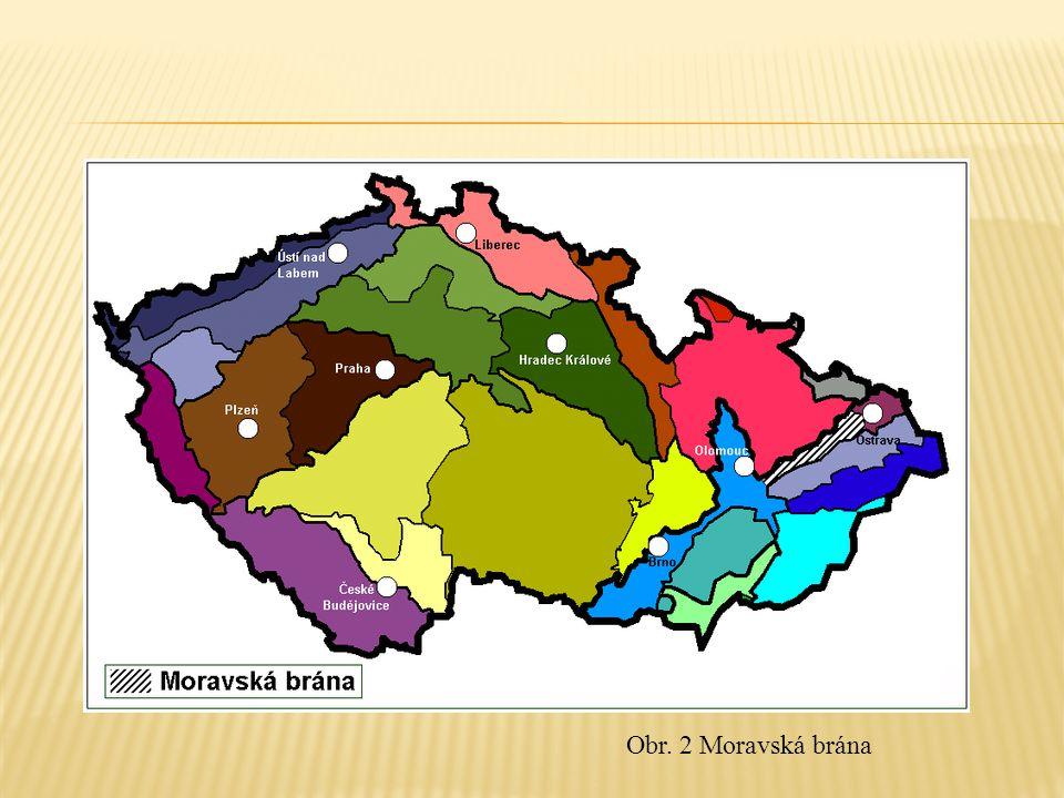 Obr. 2 Moravská brána