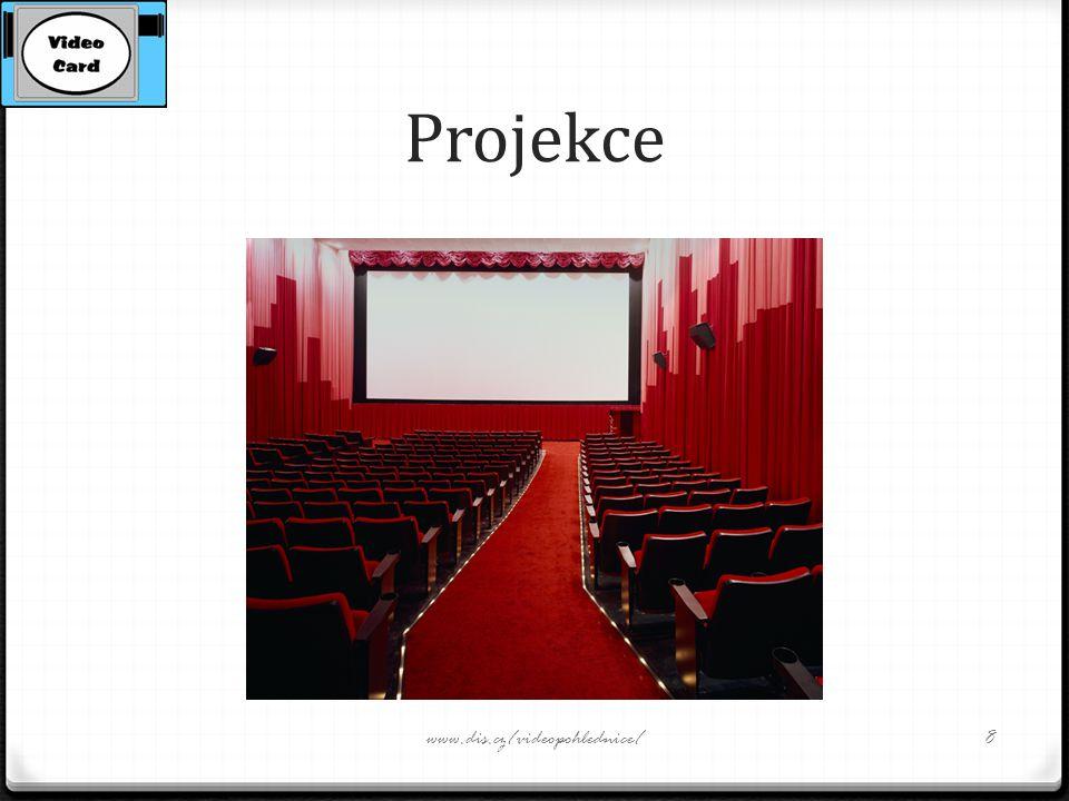 Projekce www.dis.cz/videopohlednice/8
