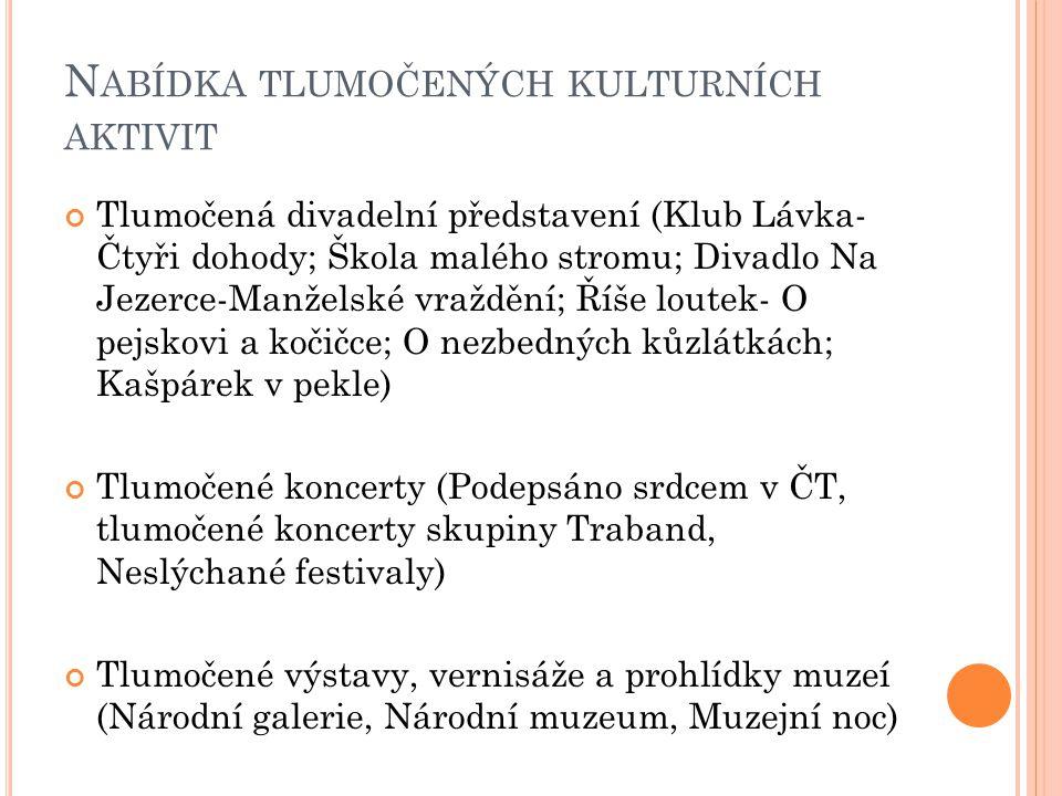 K OMORA - KONTAKT Česká komora tlumočníků znakového jazyka, o.