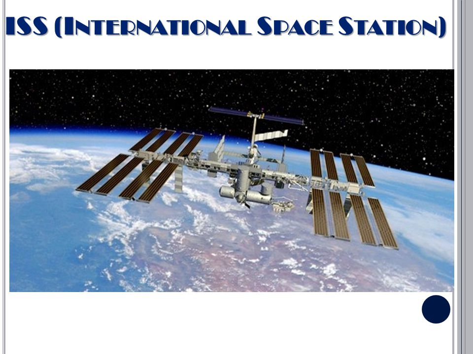 ISS (INTERNATIONAL SPACE STATION) http://www.heavens- above.com/PassSummary.aspx?lat=48.983&lng=1 4.467&title=377&loc=Ceske+Budejovice&TZ=CE T&satid=2
