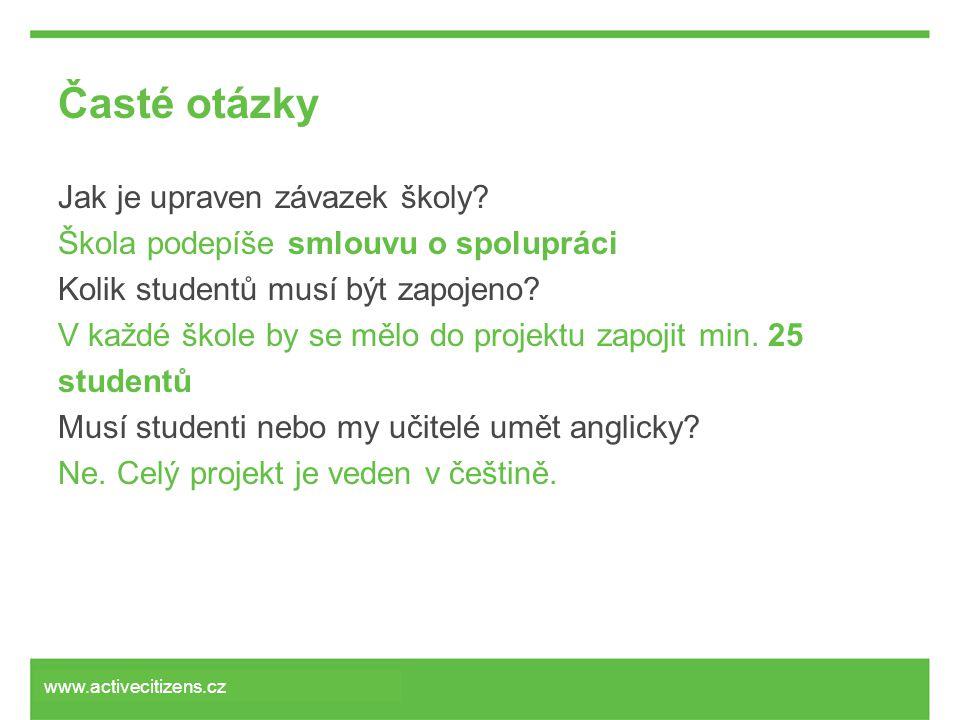 Časté otázky Jak je upraven závazek školy.