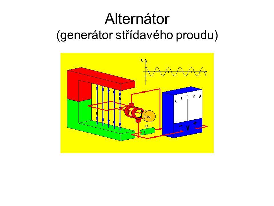 Alternátor (generátor střídavého proudu)