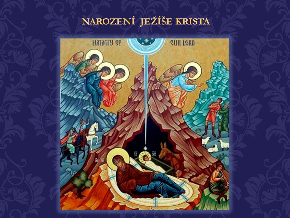 Když přišla plnost času, poslal Bůh Syna svého (Gal 4, 4) aby spasil lidský rod. V Betlémské jeskyni, porodila Přesvatá Panna Spasitele světa, Pána Je