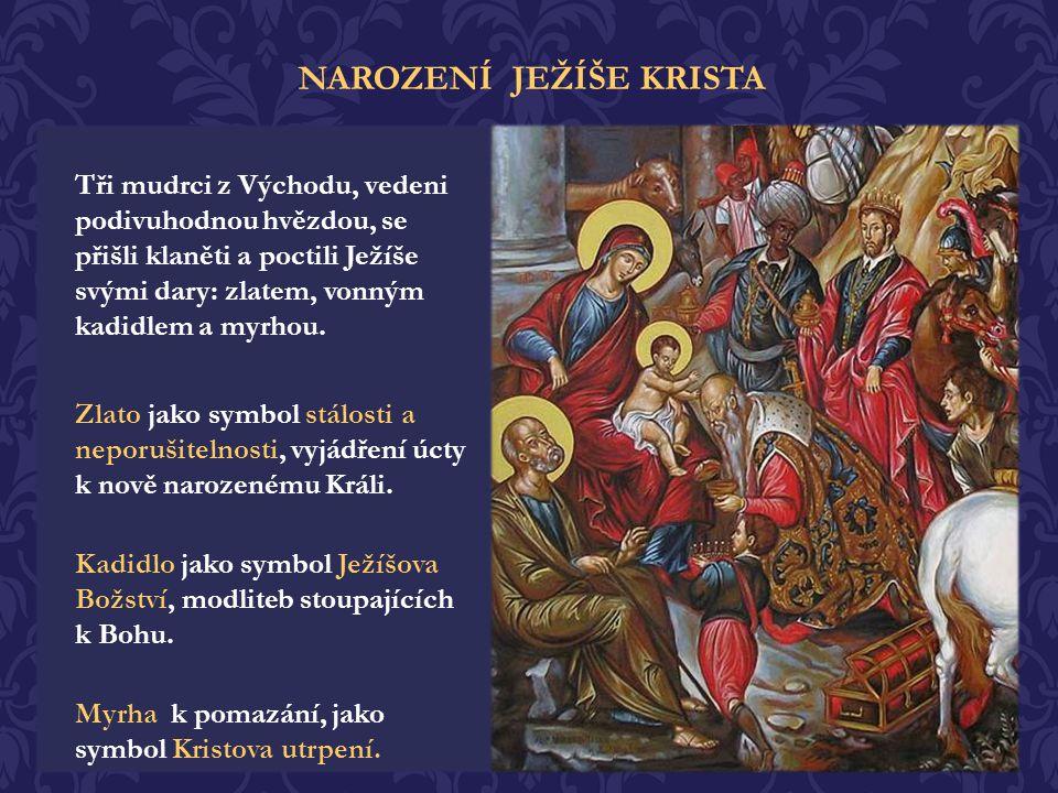 Přišli se poklonit pastýři, z polí, kterým se zjevil anděl Hospodinův: