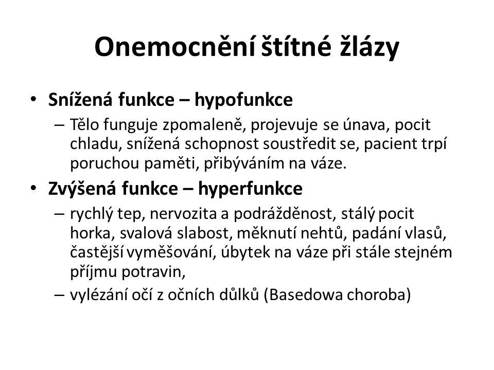 • Příštítná tělíska – Uložená na zadní straně štítné žlázy – Hormon – parathormon • Řídí využití vápníku a fosforu www.forumzdravi.cz