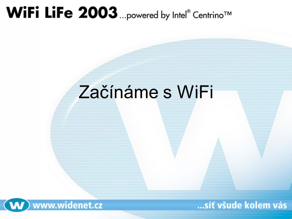 Začínáme s WiFi