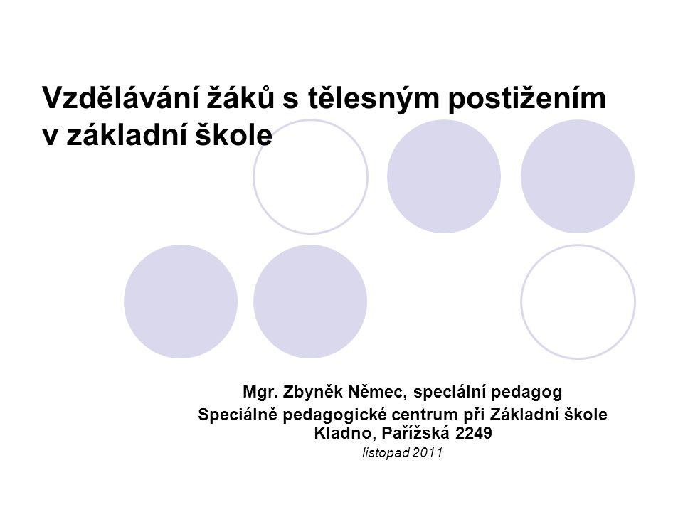 Možnosti podpory – vyhláška 147/2011 Sb.