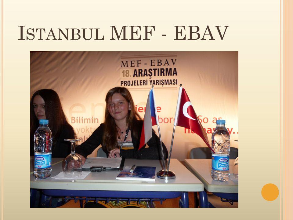 I STANBUL MEF - EBAV