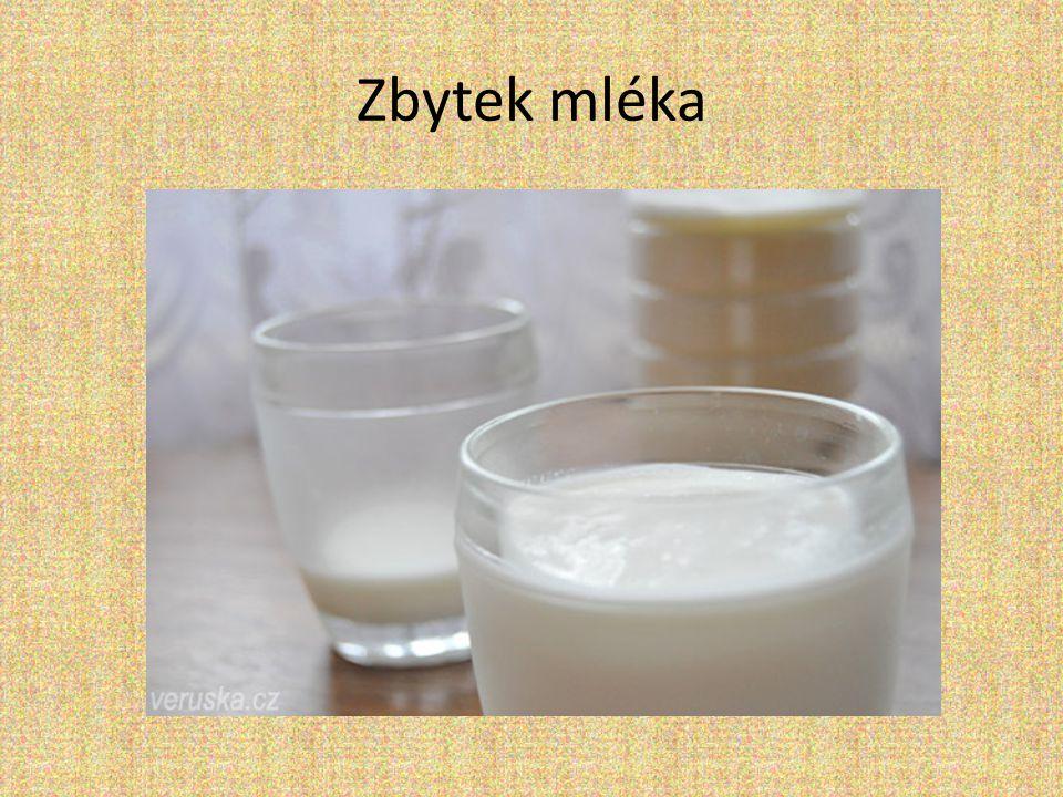 Zbytek mléka