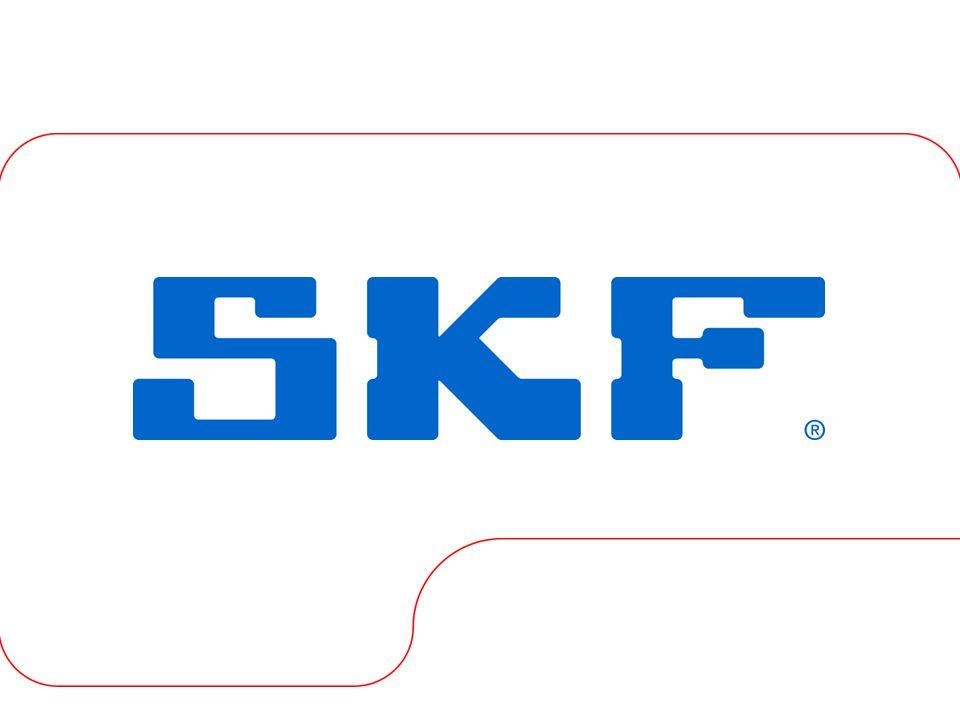 October 30, 2007 © SKF Group Slide 11 Kuličková ložiska - vlastnosti Přesnost chodu • třída P5 pro D  52 mm • třída P6 pro 52  D  110 mm • třída N pro D  110 mm Tolerance šířky • 0/-60  m pro D  110 mm • 0/-100  m pro D  110 mm Přesnost rozměrů • třída P6 Nesouosost (2 až 10 úhlových minut) • vůle ložiska za provozu • velikosti ložiska • vnitřní konstrukci • síly a momenty působící na ložisko Minimální zatížení Axiální únosnost • pouze F A – max.