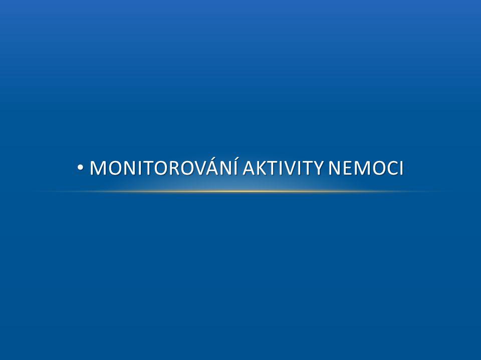 • MONITOROVÁNÍ AKTIVITY NEMOCI