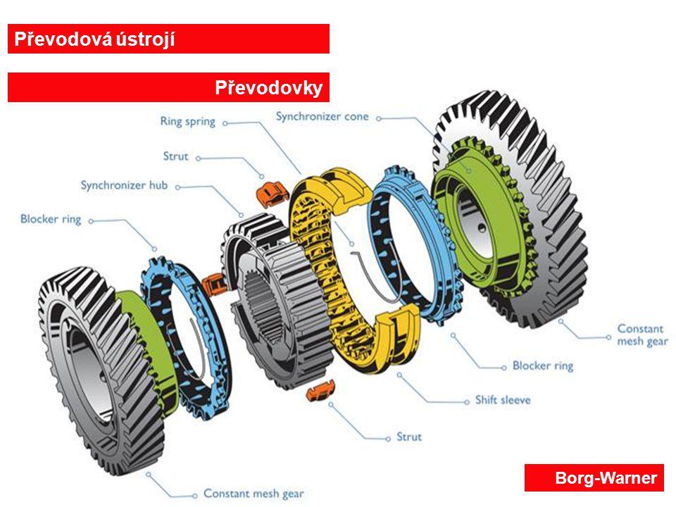 27.6.201413 Řazení synchronizační spojkou Dvojitá synchronizace (VW) 1-ozubené kolo rychlostního stupně, 2-vnitřní synchronizační kroužek, 3-vnější prstenec, 4-vnější synchronizační kroužek, 5-synchronizační vložka s řadící objímkou 1 23 45 Převodová ústrojí Převodovky