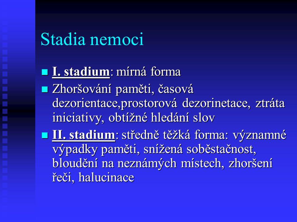 Stadia nemoci  I.