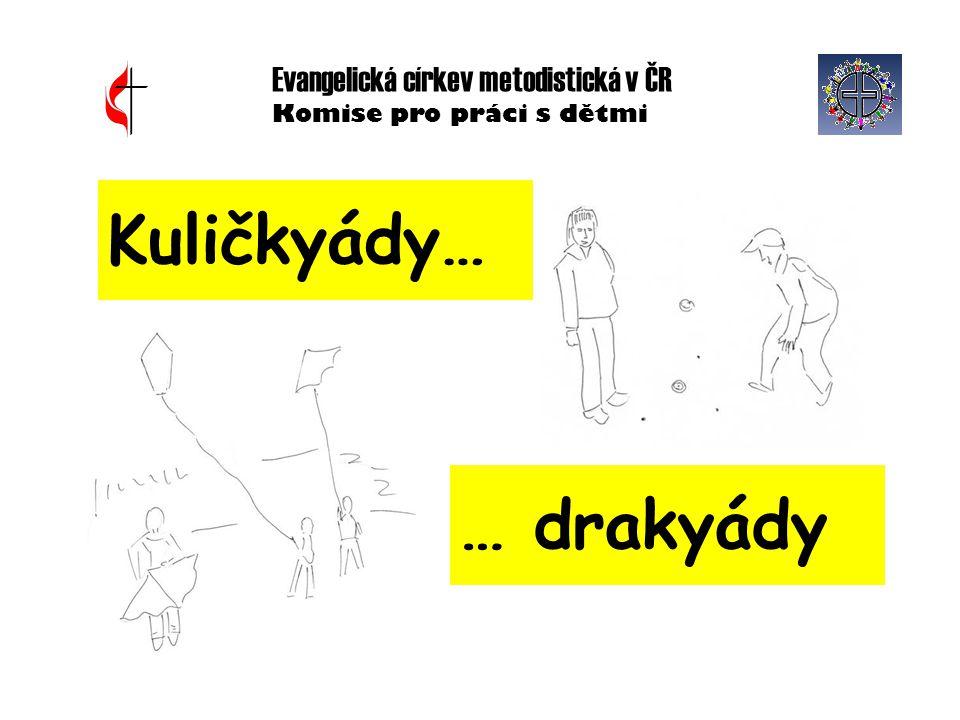 Evangelická církev metodistická v ČR Komise pro práci s dětmi Kuličkyády… … drakyády