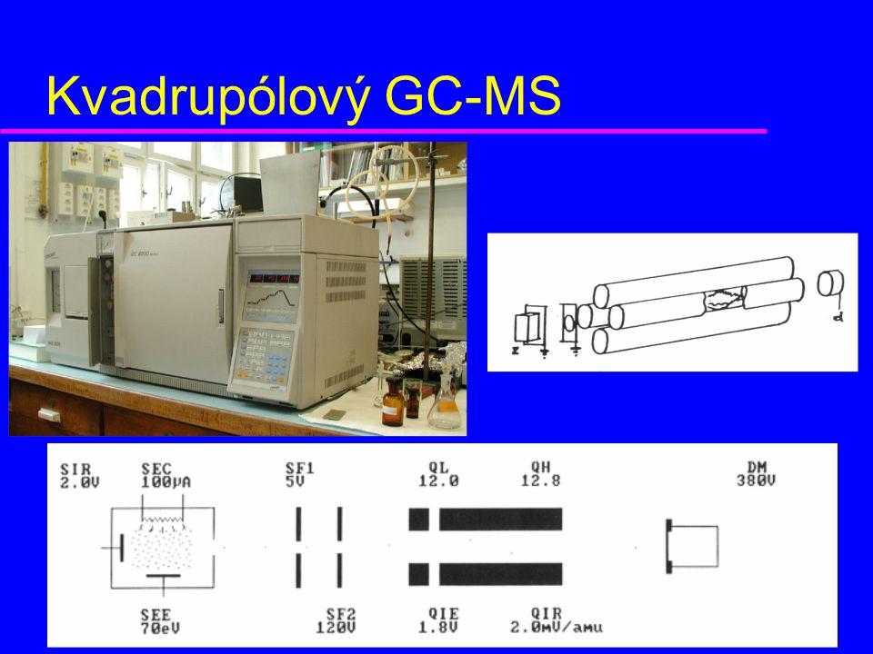 Kvadrupólový GC-MS obrázek