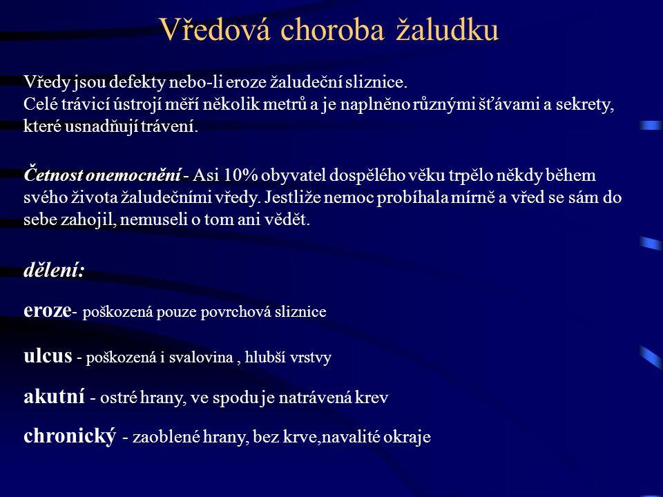 Edukace zaměřená na výživu u klientů s vředovou chorobou JIHOČESKÁ UNIVERZITA ČESKÉ BUDĚJOVICE M.Štěpková J.Novotná VS-1.Písek,PS