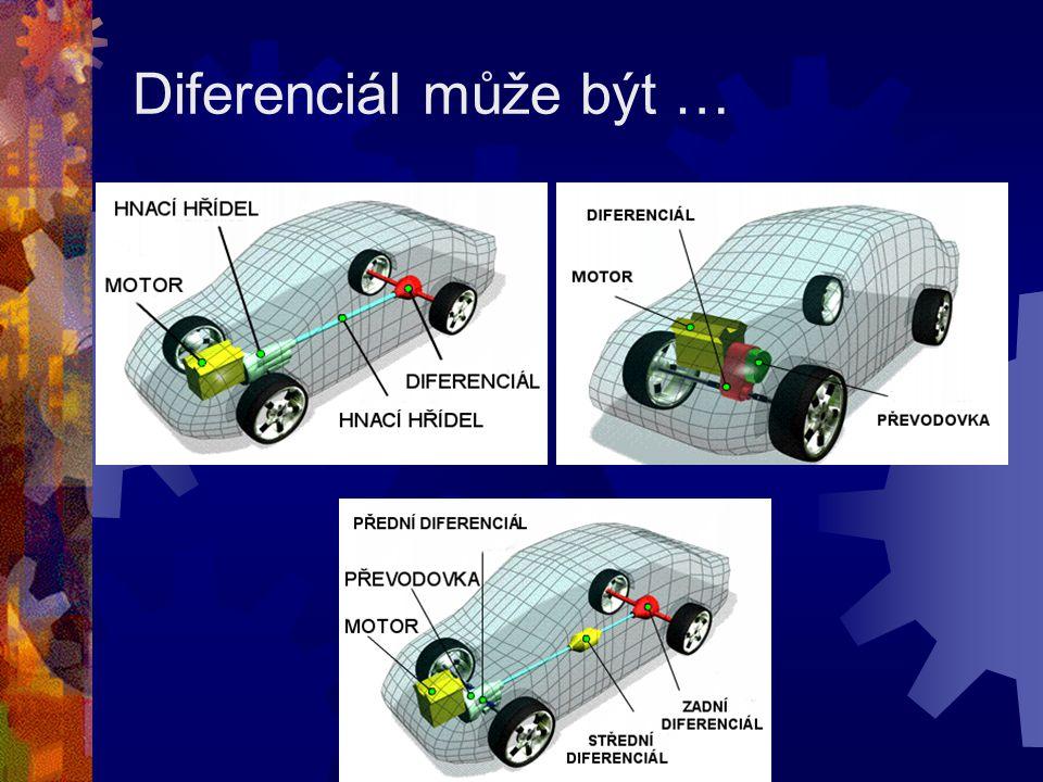 Diferenciál může být …
