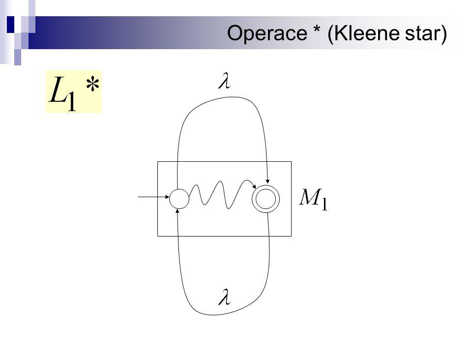 Operace * (Kleene star)