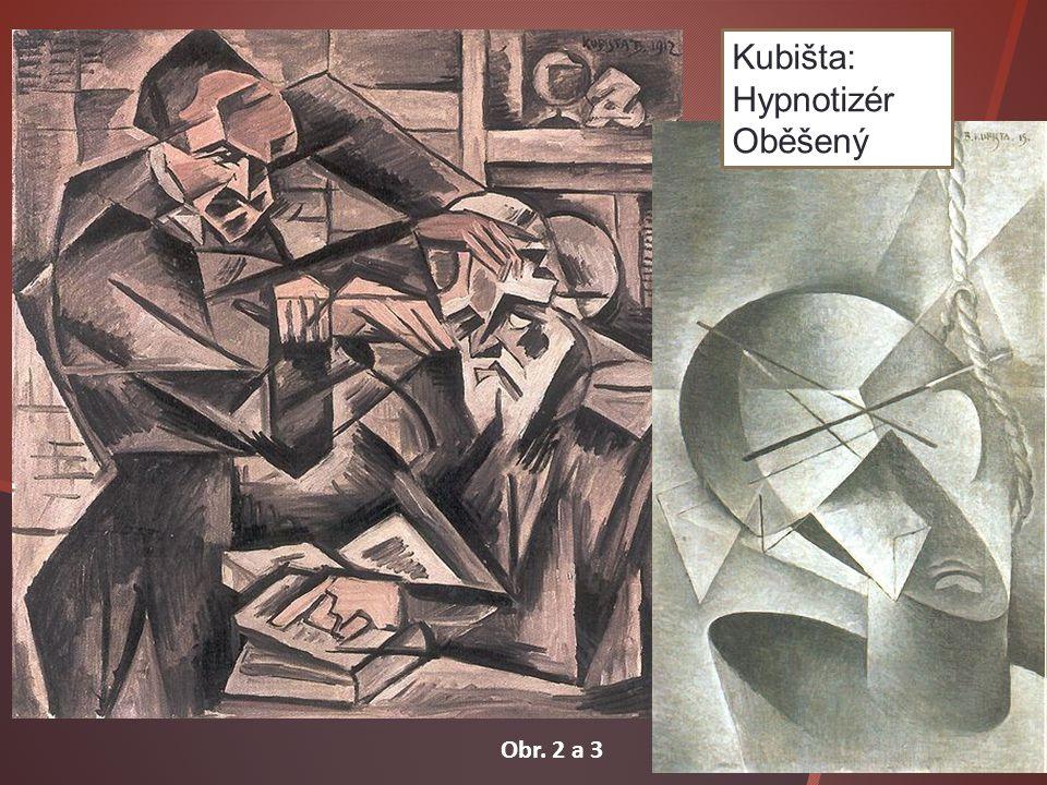 Kubišta: Hypnotizér Oběšený Obr. 2 a 3