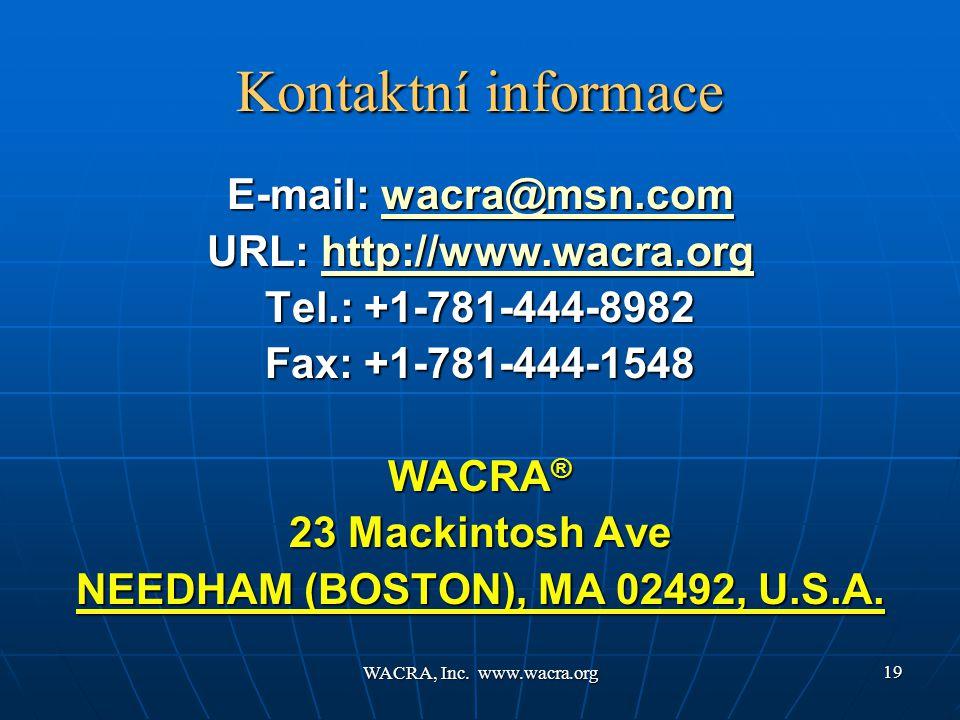 WACRA, Inc.