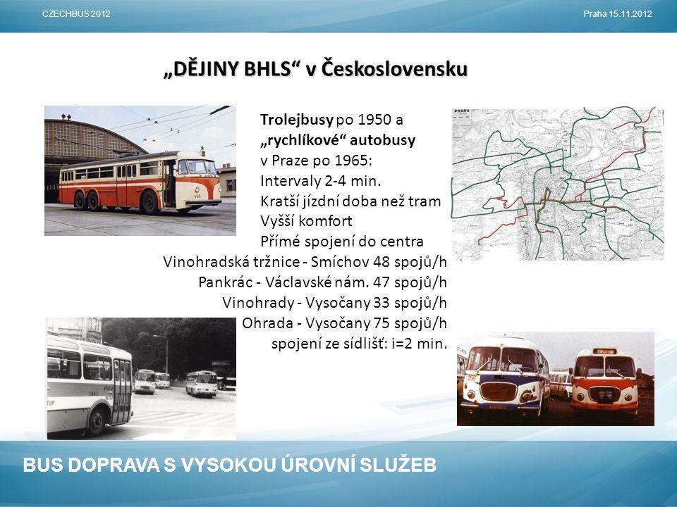 BUS DOPRAVA S VYSOKOU ÚROVNÍ SLUŽEB BHLS JAKO LEVNĚJŠÍ (EFEKTIVNĚJŠÍ) ALTERNATIVA KOLEJOVÉ DOPRAVY INFRASTRUKTURAVOZIDLA 0,25 M€/80-100 cest.