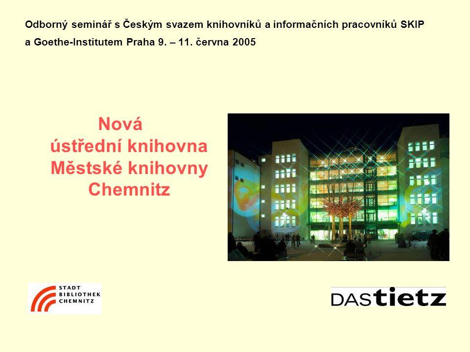 Odborný seminář s Českým svazem knihovníků a informačních pracovníků SKIP a Goethe-Institutem Praha 9.