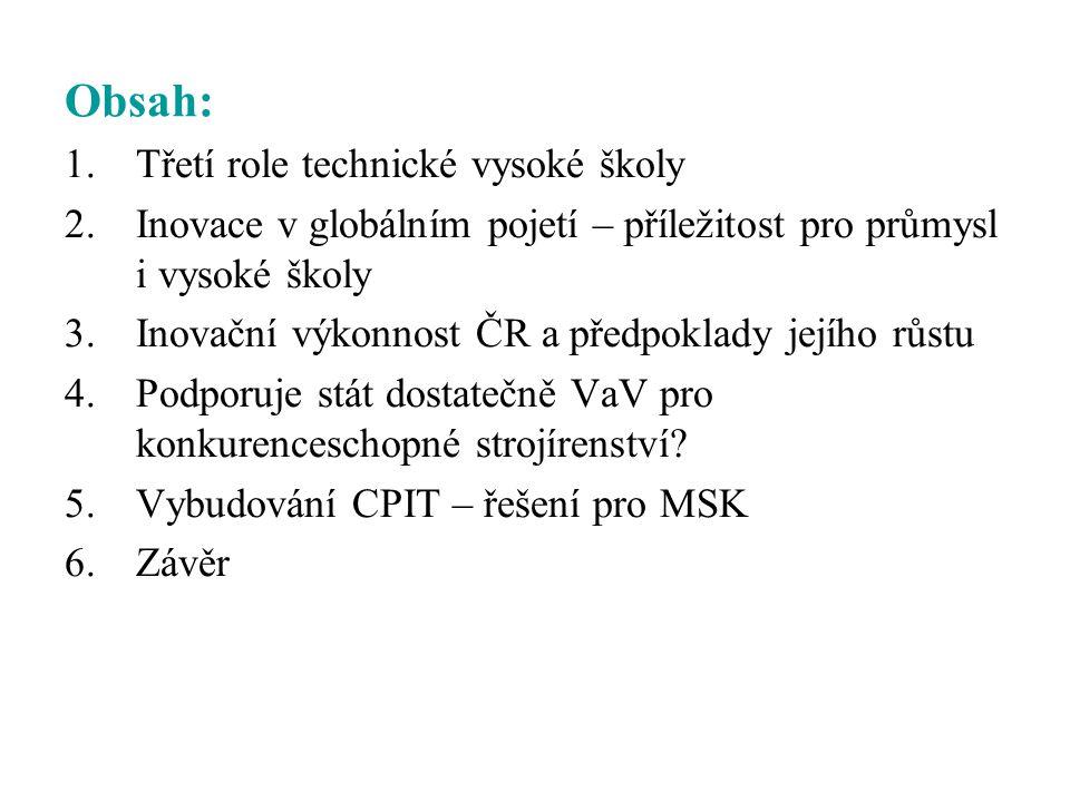 Závěry semináře RVŠ k 3.roli vysokých škol konaného dne 23.5.2007 1.
