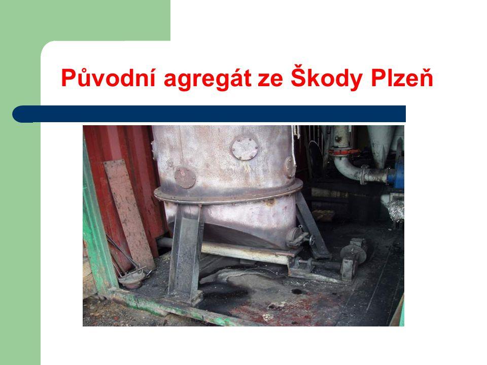 Další historická aplikace - ŠKODA  Škoda Plzeň počátek devadesátých let  ENERGOBLOKU 400 kW osazený lokomotivním motorem ČKD  Nestabilita v průřezu