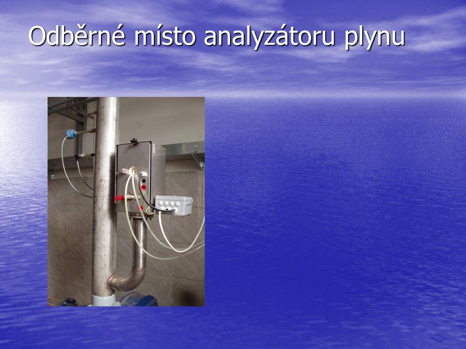 Dmychadlo pro zajištění tlaku plynu