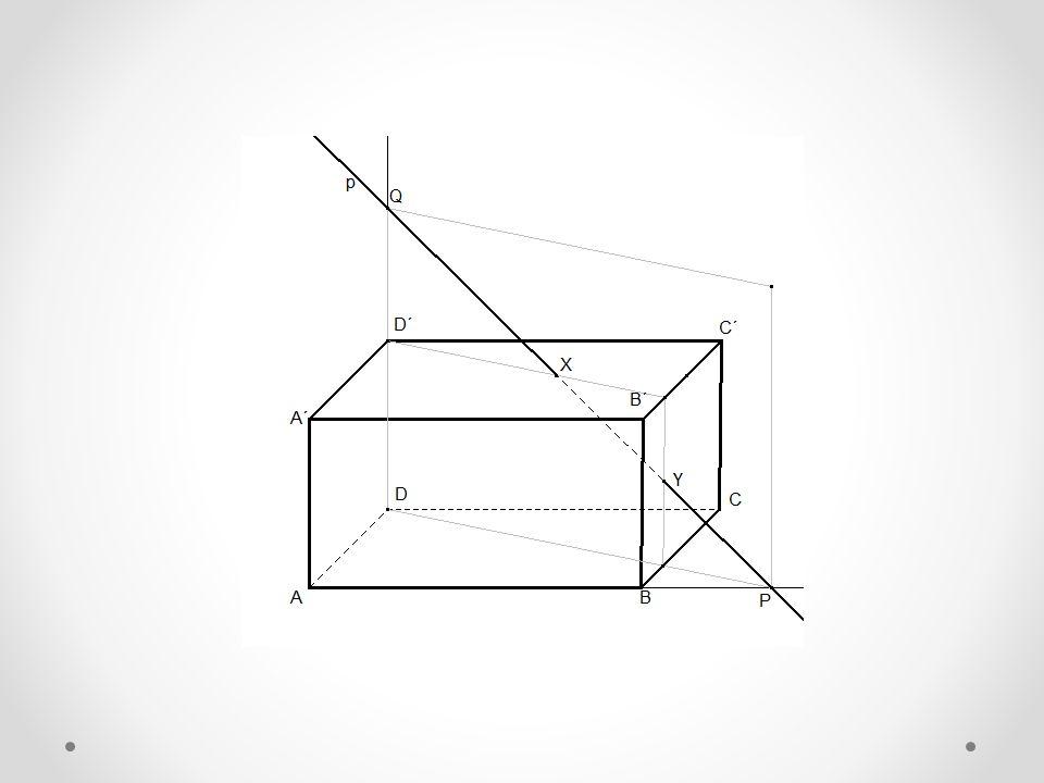 Ve volném rovnoběžném promítání zobrazte čtyřboký jehlan VABCD s rovnoběžníkovou podstavou ABCD, jejíž střed je bod S.