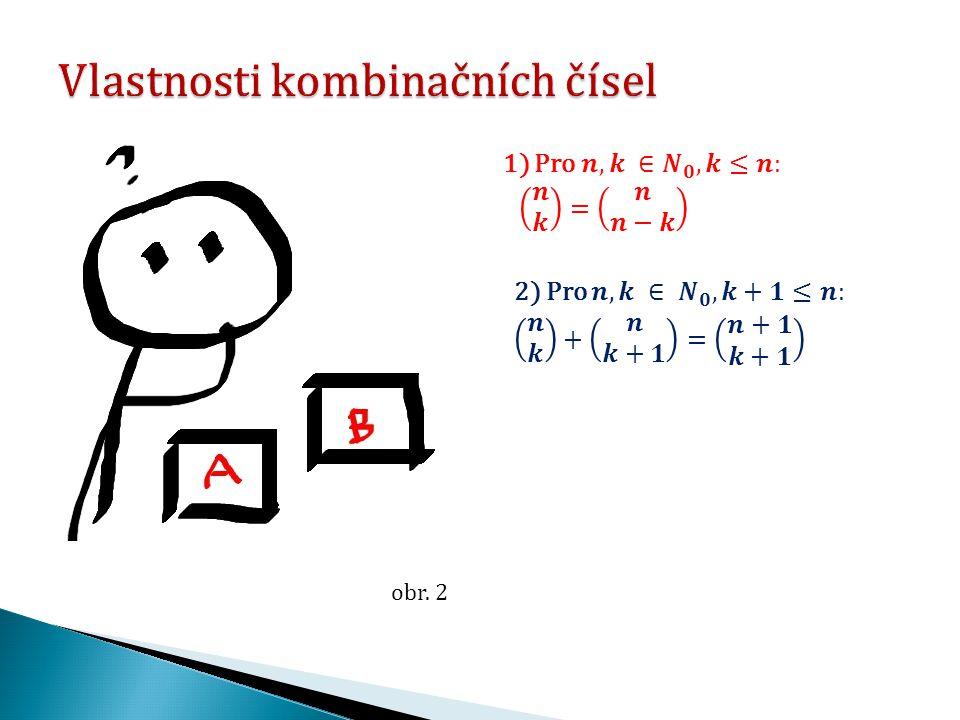 """Praktická část výukového materiálu """"Rovnice s kombinačními čísly se zabývá využitím vzorce pro počet kombinací bez opakování při řešení čtyř rovnic s kombinačními čísly."""