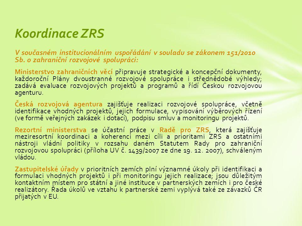 V současném institucionálním uspořádání v souladu se zákonem 151/2010 Sb.