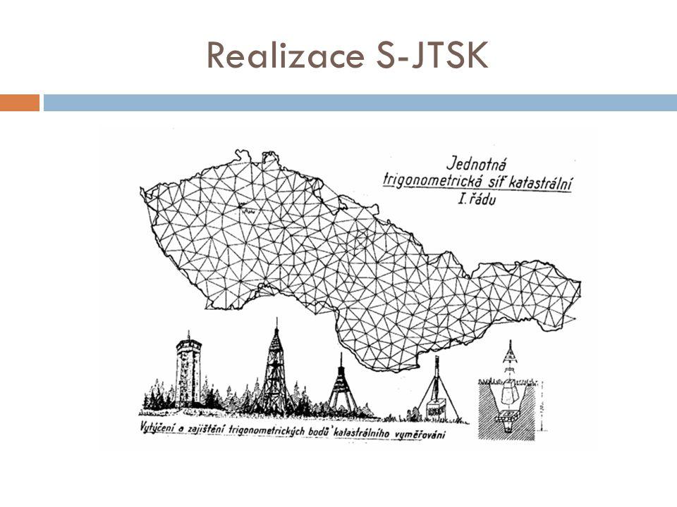 Realizace S-JTSK
