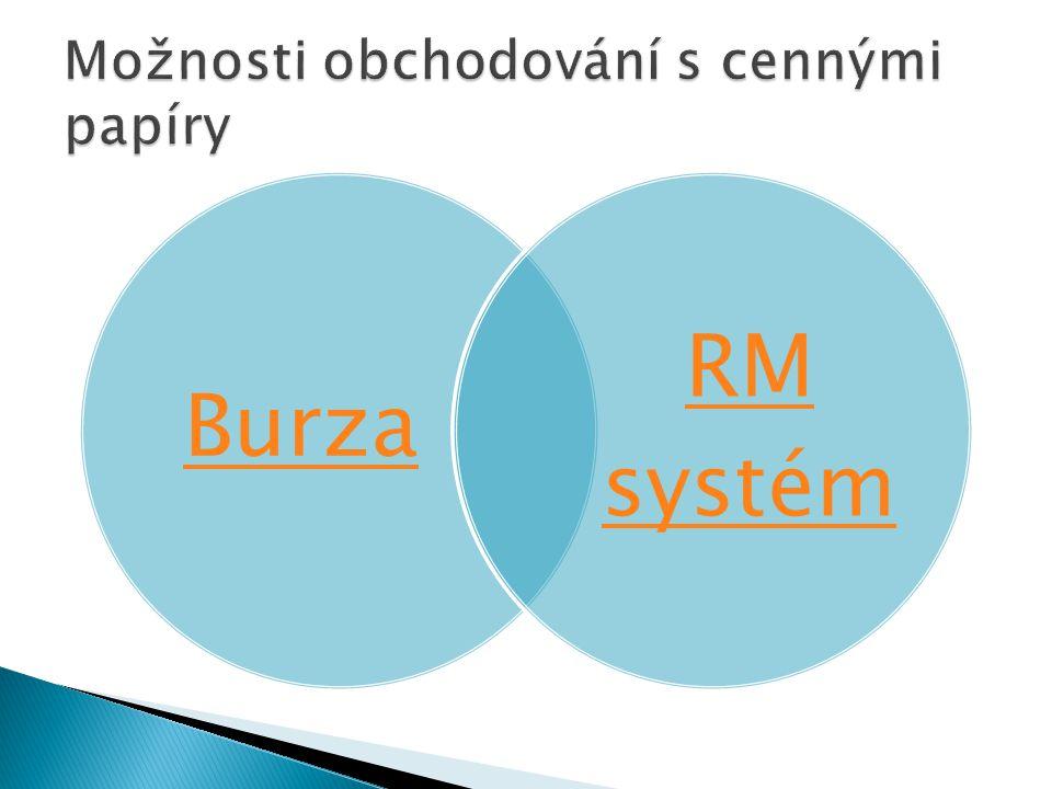 Burza RM systém