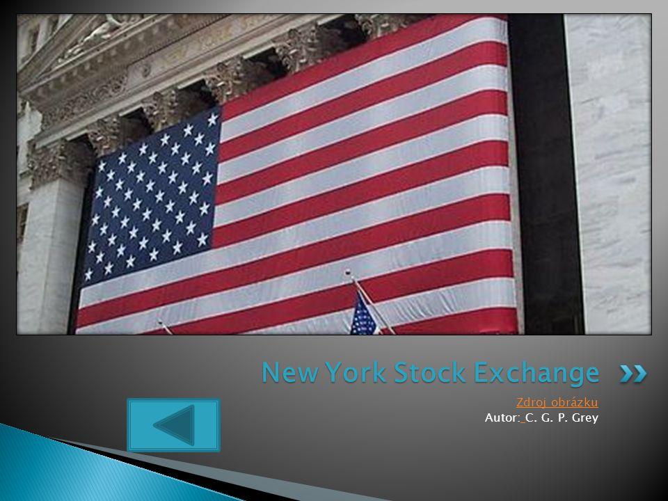 Zdroj obrázku Autor: C. G. P. Grey New York Stock Exchange