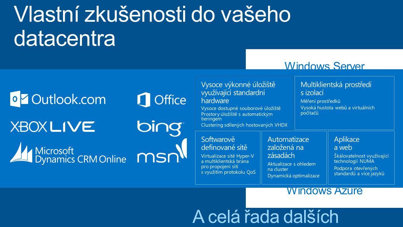 Microsoft Azure byla jediná platforma veřejného Cloudu, kde jsme dostali ujištění, že ukládaná data neopustí území EU.