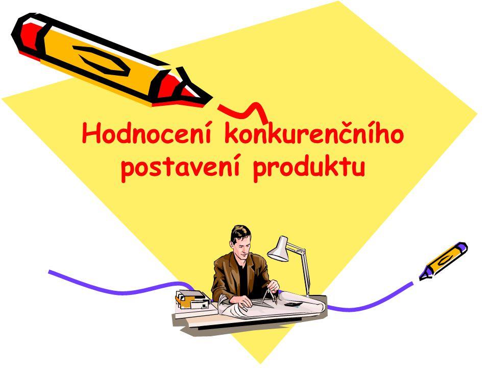 Hodnocení konkurenčního postavení produktu