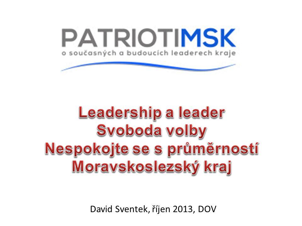 David Sventek, říjen 2013, DOV