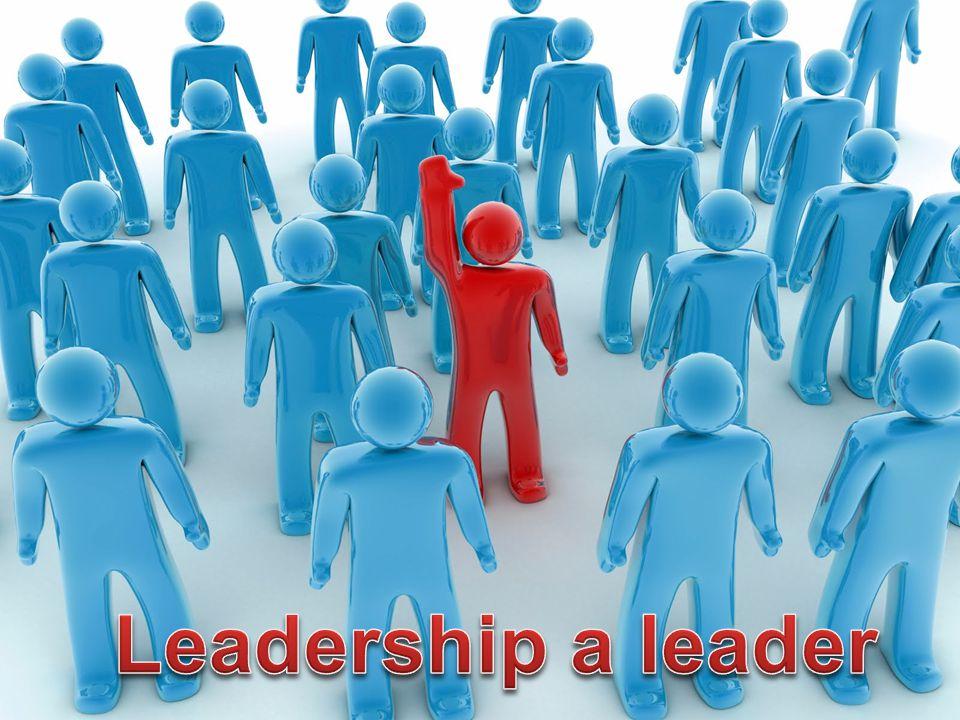 """Leadership pro 21 století •leadership již není exklusivita """"bosů nahoře .."""