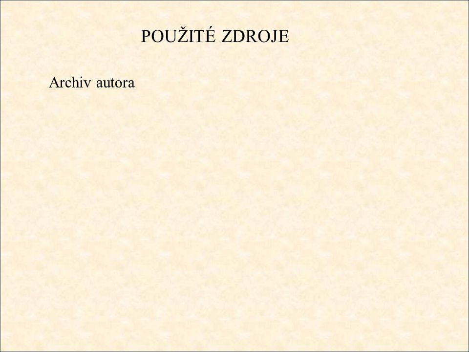 Archiv autora POUŽITÉ ZDROJE