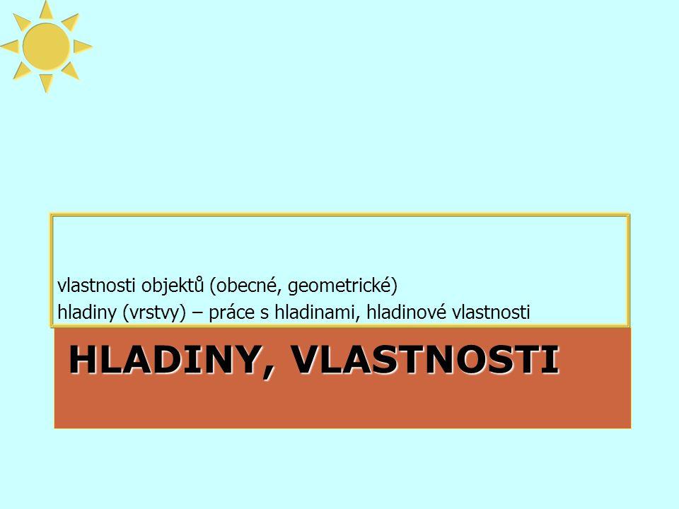 Systémy CAD, Helena Novotná, jaro 20148 Geometrické vlastnosti Různé podle typu objektu (úsečka, kružnice, text...) poloha •úsečka – souřadnice konců •kružnice – střed •text – vkládací bod rozměrové (a další) vlastnosti •kružnice – poloměr, průměr, obvod, plocha… •text – velikost, způsob zarovnání...